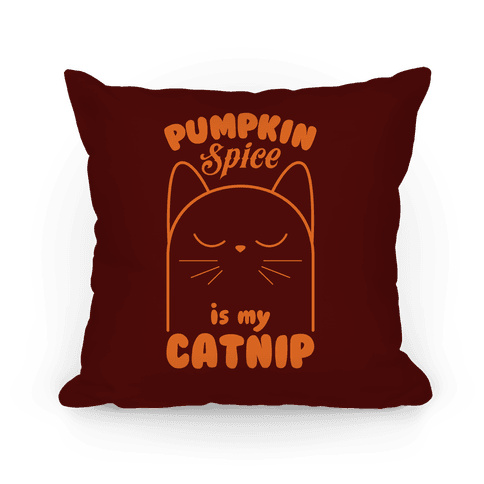 Pumpkin Spice Catnip Pillow