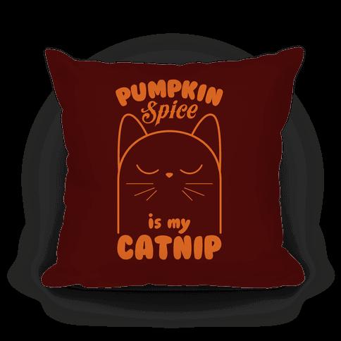 Pumpkin Spice Catnip Pillow