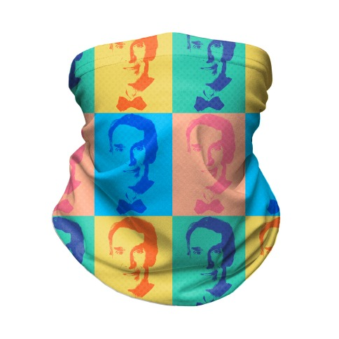 Pop Art Bill Nye Neck Gaiter