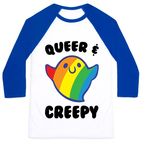 Queer & Creepy Baseball Tee