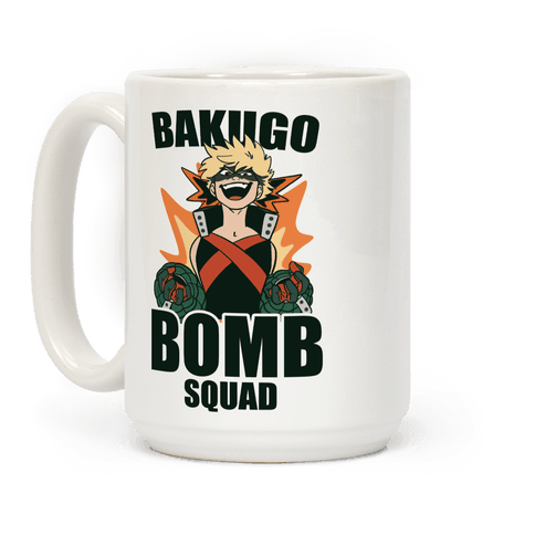 Bakugo Bomb Squad Coffee Mug