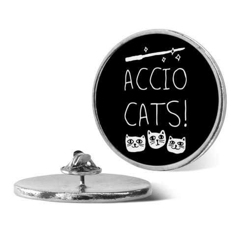 Accio Cats pin