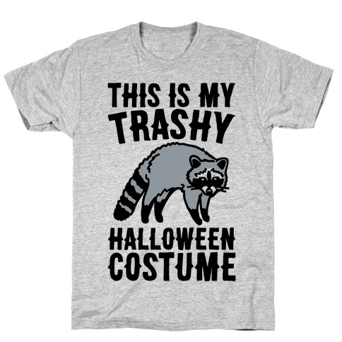 This Is My Trashy Halloween Costume Raccoon T-Shirt