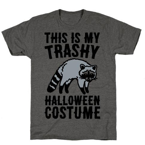 This Is My Trashy Halloween Costume Raccoon T-Shirt