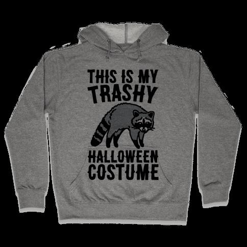 This Is My Trashy Halloween Costume Raccoon Hooded Sweatshirt