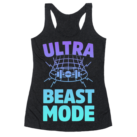 Ultra Beast Mode Racerback Tank Top
