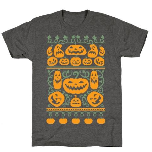 Ugly Pumpkin Sweater T-Shirt