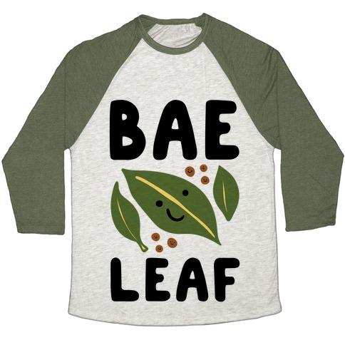 Bae Leaf Baseball Tee