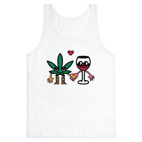 Weed-n-Wine Tank Top