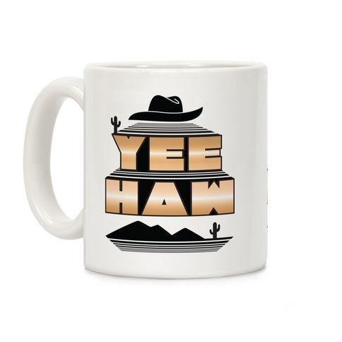 Retro 80s Yee Haw Coffee Mug