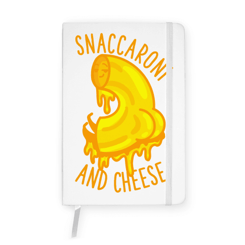 Snaccaroni and Cheese Notebook