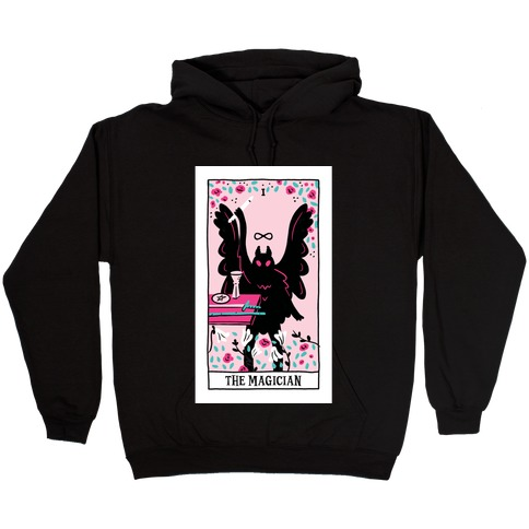 The Magician Mothman Tarot Hooded Sweatshirt