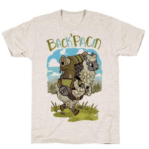 Back'Pacin Alpaca T-Shirt