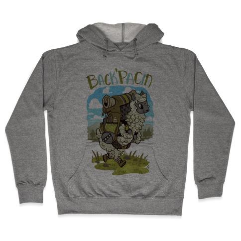 Back'Pacin Alpaca Hooded Sweatshirt