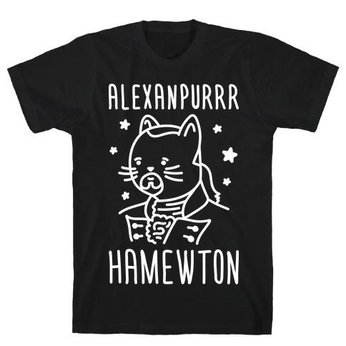 Alexanpurrr Hamewton Parody T-Shirt