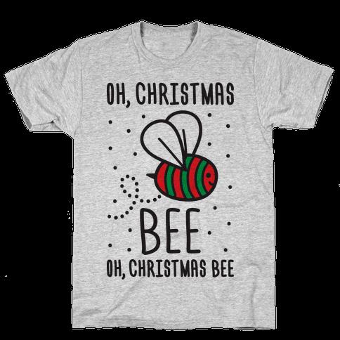 Oh, Christmas Bee Mens T-Shirt