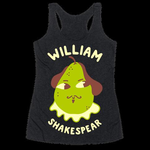 William ShakesPear Racerback Tank Top