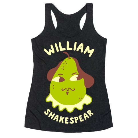 William ShakesPear Racerback Tank Top