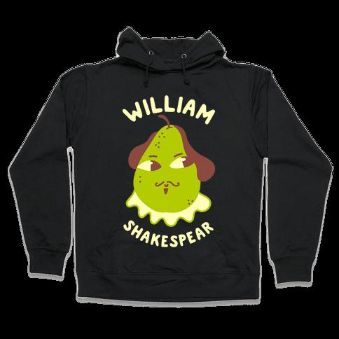 William ShakesPear Hooded Sweatshirt