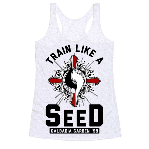 Train Like a SeeD Galbadia Racerback Tank Top