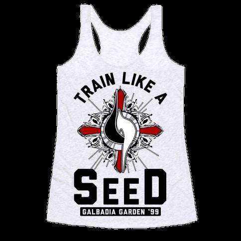 Train Like a SeeD Galbadia Racerback Tank Top
