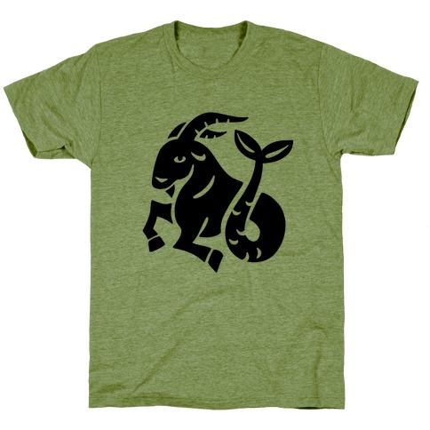 Zodiacs Of The Hidden Temple - Capricorn Sea-Goat T-Shirt