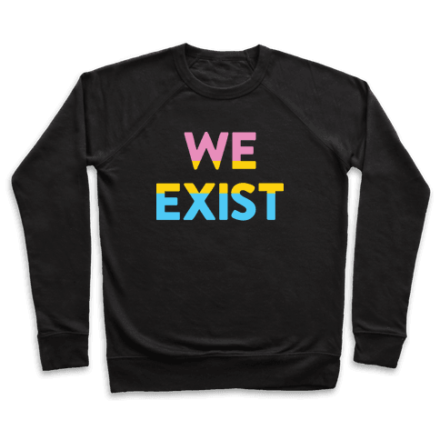We Exist Pansexual Pullover