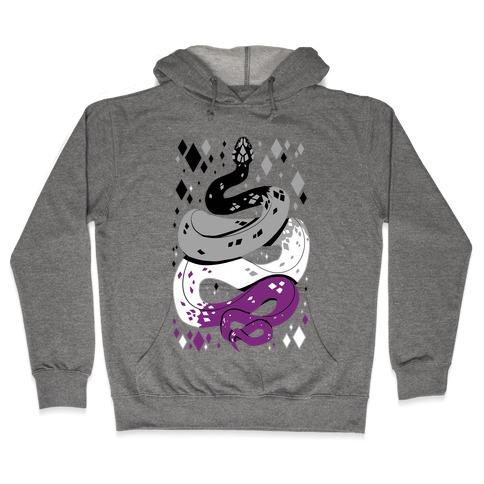 Pride Snakes: Ace Hooded Sweatshirt