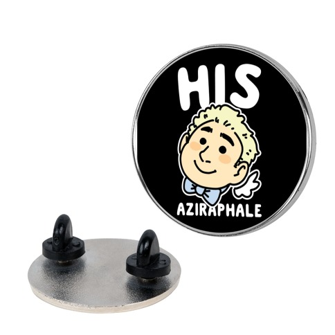 His Aziraphale (1 of 2 Pair) Pin