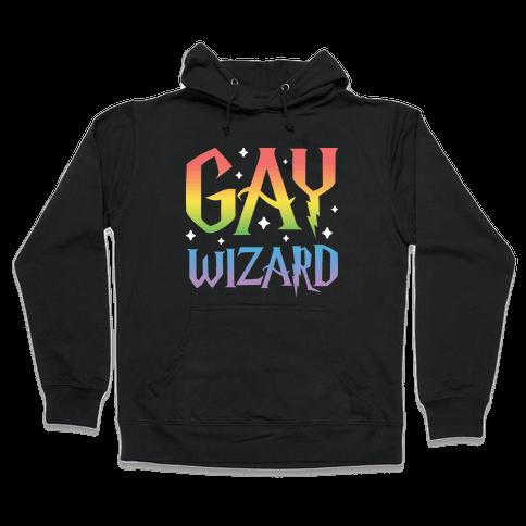 Gay Wizard Hooded Sweatshirt