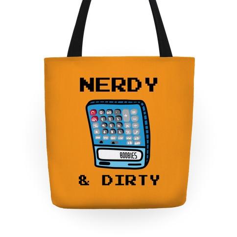Nerdy & Dirty Tote