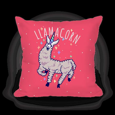 Llamacorn Pillow