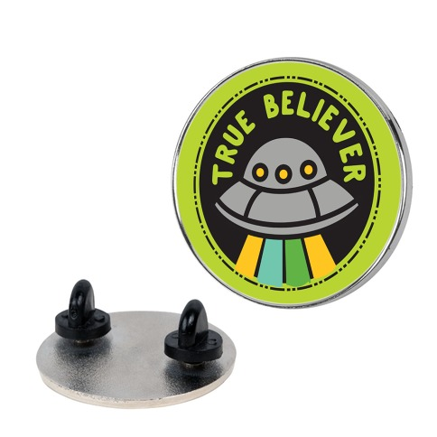 True Believer Culture Merit Badge Pin