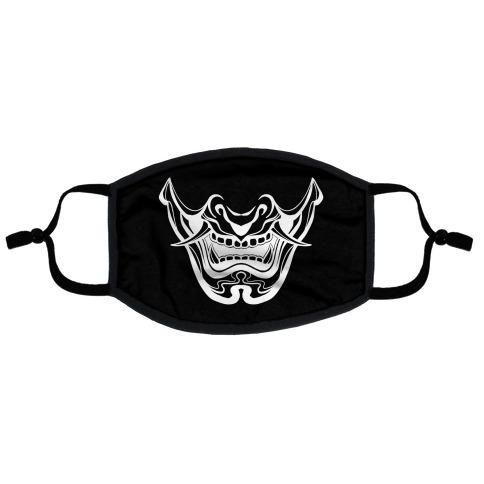 Oni Yokai Flat Face Mask