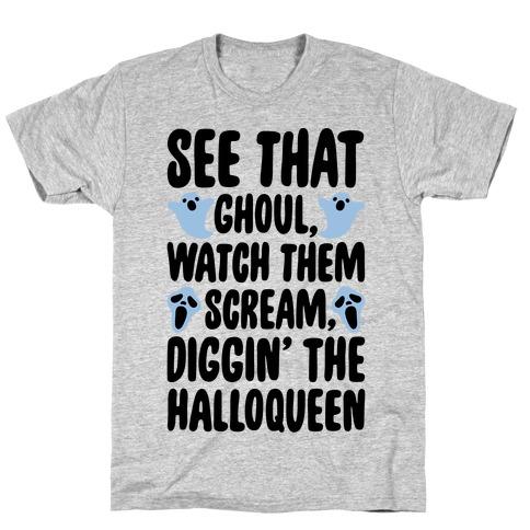 Halloween Dancing Queen Parody T-Shirt