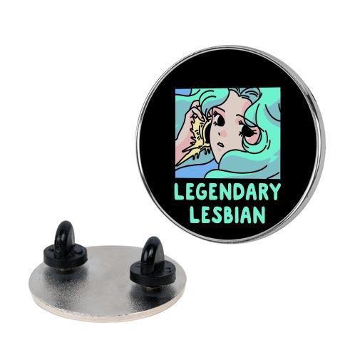 Lesbian Legend Neptune Pin