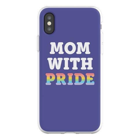 Mom With Pride Phone Flexi-Case
