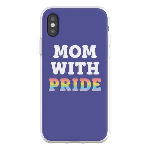 Mom With Pride Phone Flexi-Case