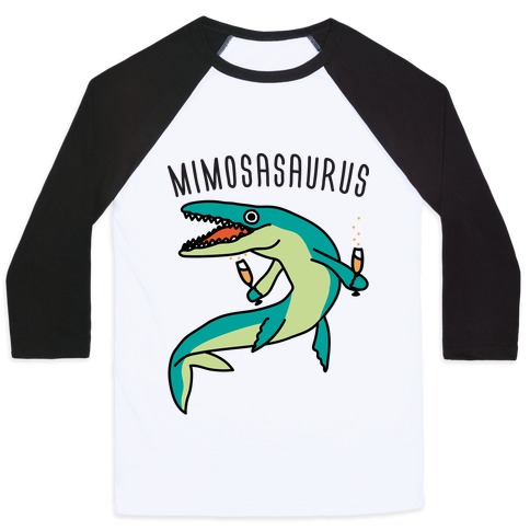 Mimosasaurus Baseball Tee