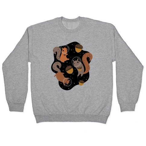 Squirrels In Space Pullover