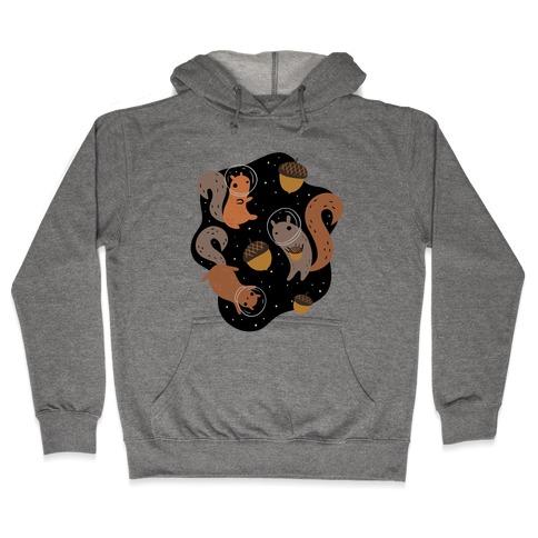 Squirrels In Space Hooded Sweatshirt