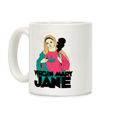 Virgin Mary Jane Coffee Mug