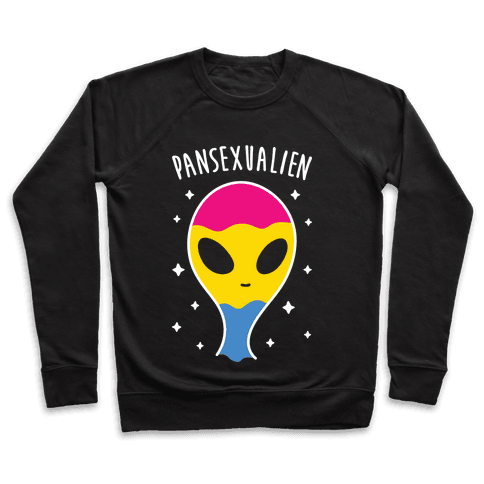 Pansexualien (White) Pullover