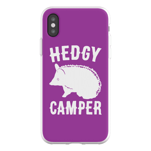 Hedgy Camper Phone Flexi-Case