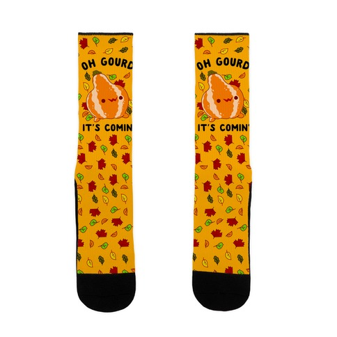Oh Gourd It's Comin' Sock
