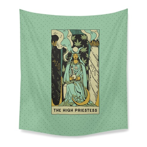 The High Priestess Tapestry