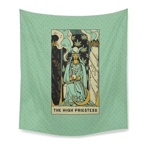 The High Priestess Tapestry