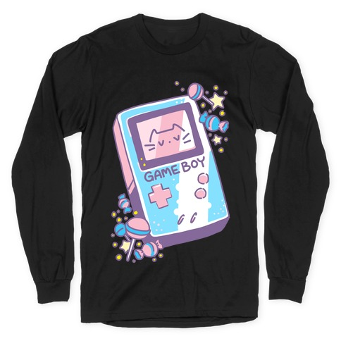 Game Boy - Trans Pride Long Sleeve T-Shirt