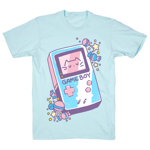 Game Boy - Trans Pride Mens/Unisex T-Shirt