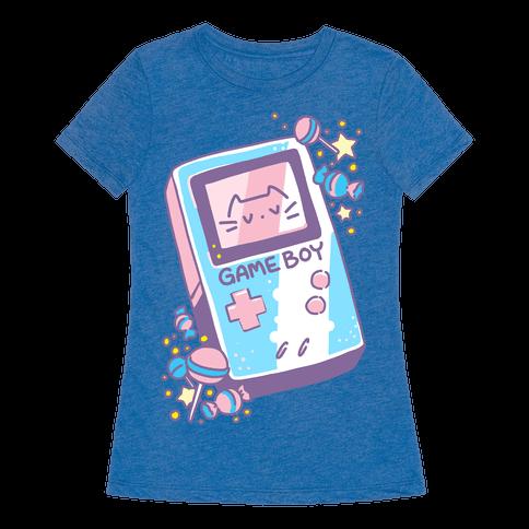Game Boy - Trans Pride Womens T-Shirt